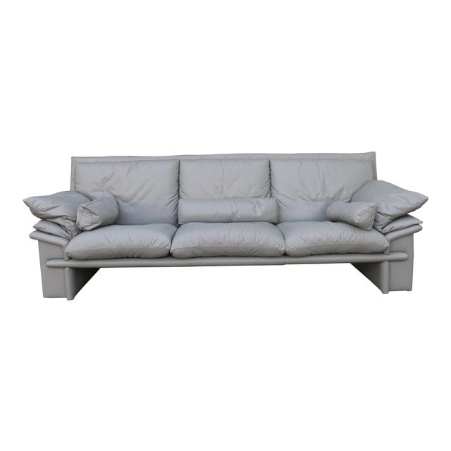 Nicoletti Italian Leather Sofa - Image 1 of 11