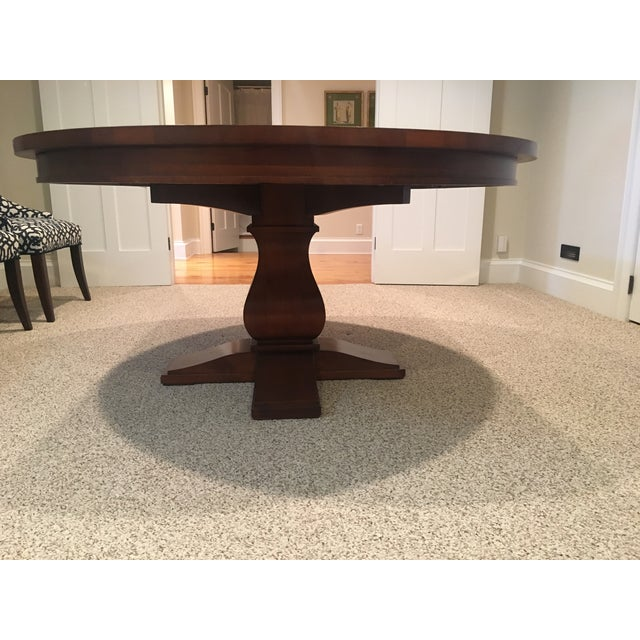 Restoration Hardware Round Dining Table - Image 2 of 10