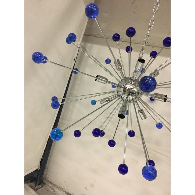 Contemporary Murano Glass Triedo Sputnik Chandelier For Sale - Image 3 of 6