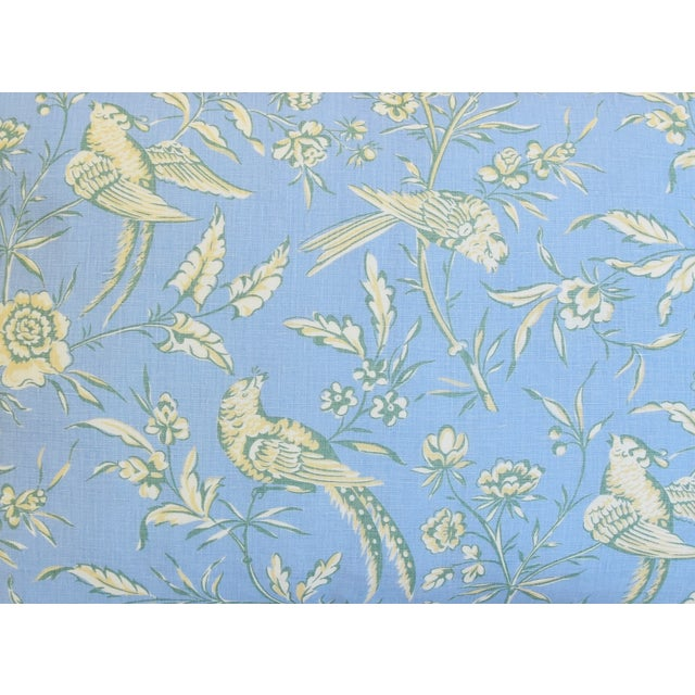 """Scalamandre Scalamandre Aviary Linen & Velvet Feather/Down Pillows 25"""" X 18"""" - Pair For Sale - Image 4 of 13"""