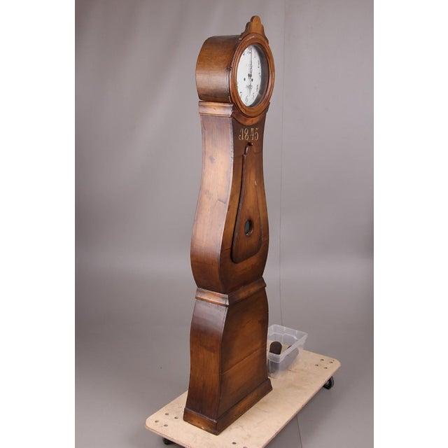 Mid 19th Century Swedish Longcase Grandfather Clock Anno 1845 For Sale - Image 5 of 12