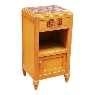 1930 Art Deco French Nightstand For Sale
