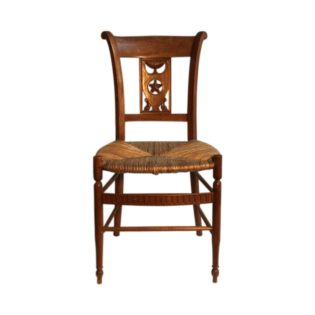 Carved Dining Room Chairs - Set of 6 - Image 1 of 5