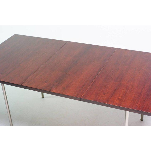 1960s Rosewood Dining Set by Cees Braakman for Pastoe For Sale - Image 5 of 10