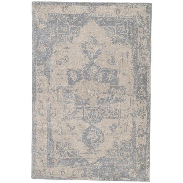 Jaipur Living Wallace Handmade Medallion Area Rug - 10′ × 14′ For Sale In Atlanta - Image 6 of 6