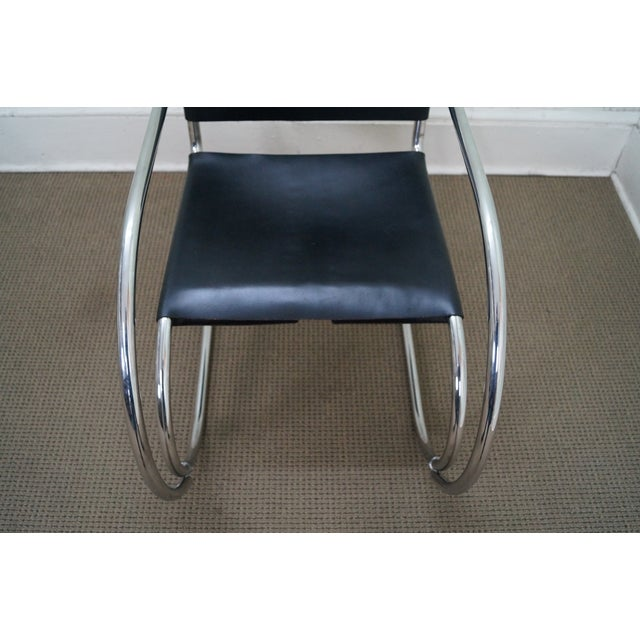 Knoll Ludwig Mies Van Der Rohe Chairs - Pair - Image 7 of 10