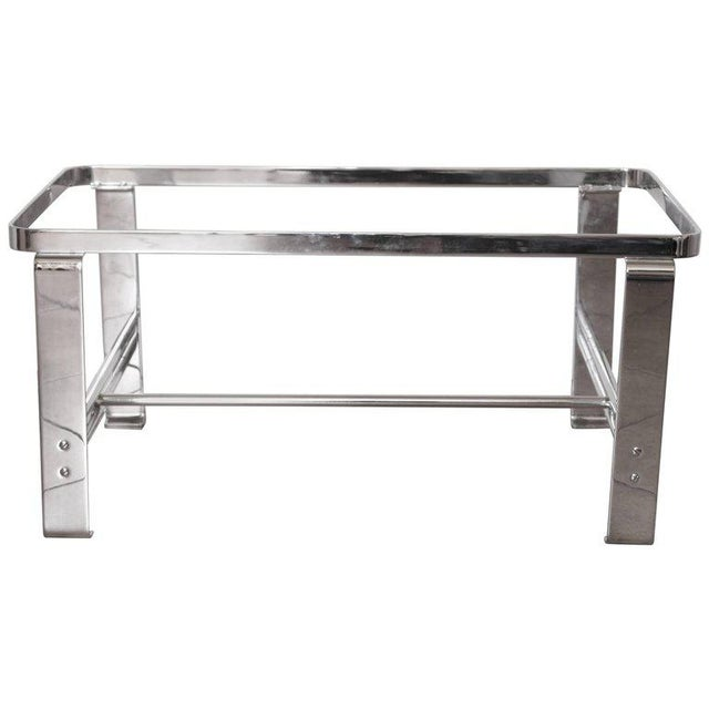 Art Deco Machine Age Wolfgang Hoffmann for Howell Cocktail Table, Rectangular For Sale - Image 11 of 11