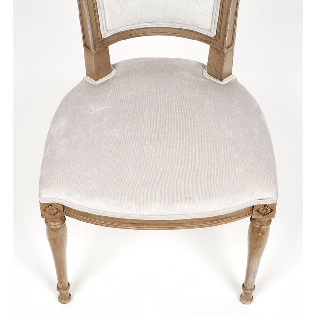 Beech Directoire Style Dining Chairs For Sale - Image 7 of 11