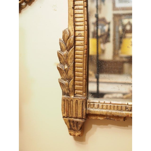 Mid 19th Century 19th Century French Trumeau Mirror For Sale - Image 5 of 5