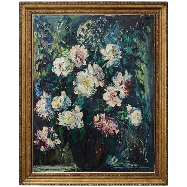 Emeric Vagh-Weinmann, Peonies, 1964 For Sale