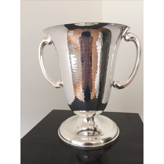 French Silver Plated French Vase - Image 2 of 4