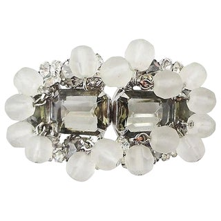 1960s Verified DeLizza & Elster Cuff Bracelet For Sale
