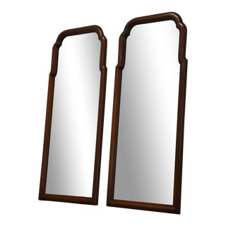 Henkel Harris Cherry Wall Mirrors - a Pair For Sale