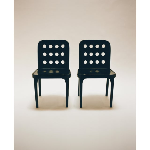Bentwood Josef Hoffmann and Oswald Haerdtl Set of Four Side Chairs C. 1928 For Sale - Image 7 of 7