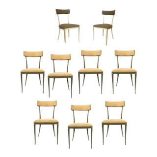 American Post-War Side Chairs - Set of 9 For Sale