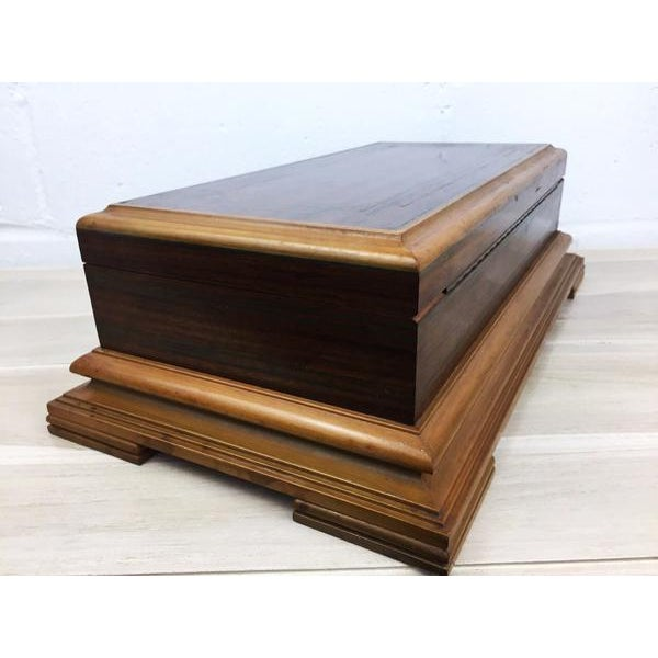 Rare H.Upmann Vintage Cigar Tobacco Box Humidor For Sale - Image 4 of 11