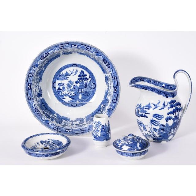 Wedgwood England Porcelain Dinnerware - 5 Piece Set For Sale - Image 11 of 12