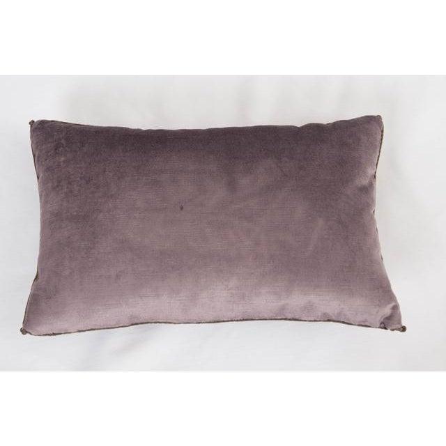 B. VIZ Design B. Viz Design Antique Textile Pillow For Sale - Image 4 of 8