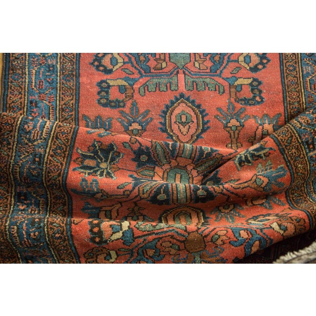 "Vintage Lilihan Rug Runner - 3'1"" x 17'9"" For Sale In New York - Image 6 of 10"