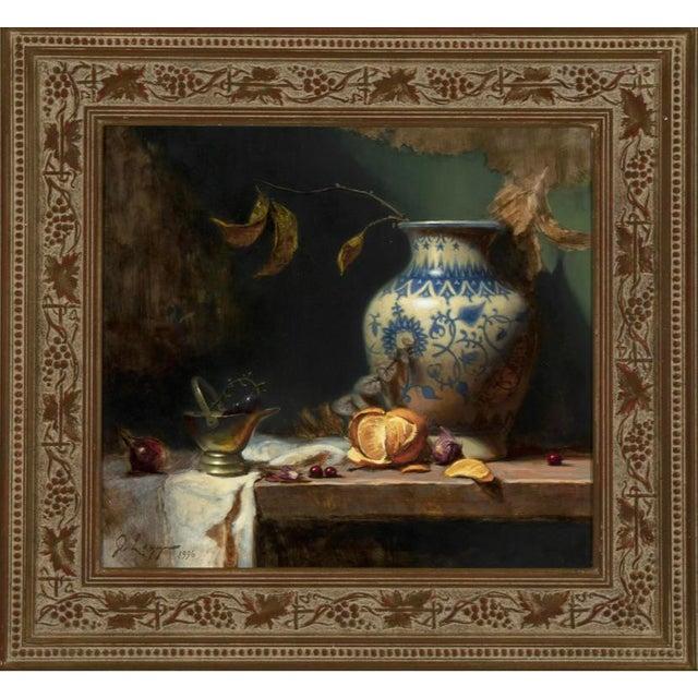 Realism Jeff Legg Original Still Life Oil Painting For Sale - Image 3 of 3