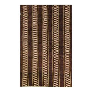Contemporary Hand Woven Rug - 3'6 X 5'9 For Sale