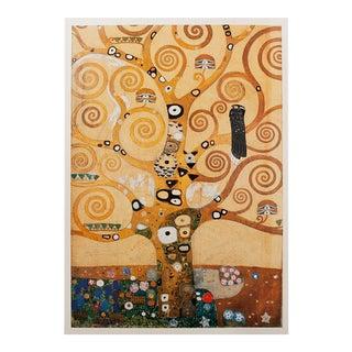 1994 Vintage Gustav Klimt Tree of Life Poster