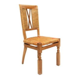 Arbus Woven Oak Back Chairs For Sale