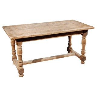 Late 19th Century Oak Desk or Writing Table From France For Sale