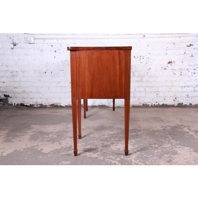 Kittinger Inlaid Mahogany Sideboard Credenza For Sale - Image 11 of 13