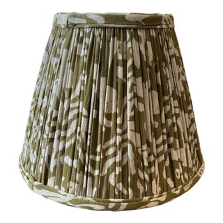 Maison Maison Army Green Gathered Lampshade For Sale