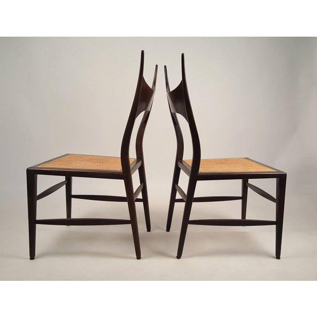 Set of Eight Edward Wormley 5580 Dining Chairs for Dunbar, 1950s For Sale In Dallas - Image 6 of 13