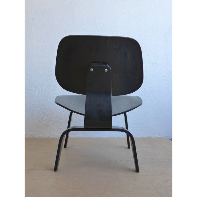 "Eames ""Lounge Chair Wood"" Chair - Image 5 of 10"