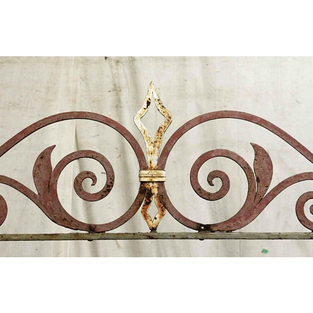 Traditional 20th Century Traditional Wrought Iron Fire Place Screen For Sale - Image 3 of 10