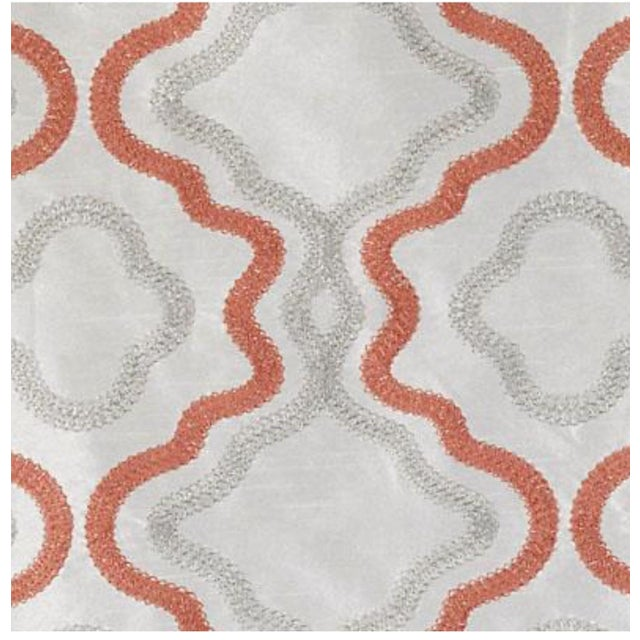 Duralee Coral Fabric - 5 Yards - Image 1 of 2