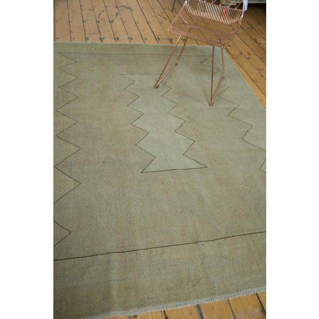 "Islamic Vintage Turkish Oushak Carpet - 5'10"" x 7'10"" For Sale - Image 3 of 8"
