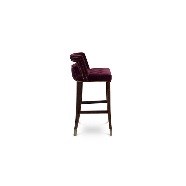 Contemporary Naj Bar Chair From Covet Paris For Sale - Image 3 of 7