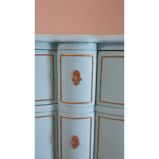 Paint Drexel Touraine French Provincial 6-Drawer Dresser For Sale - Image 7 of 9