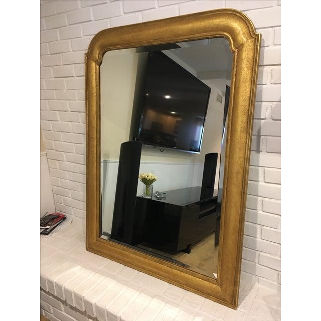 Custom Made Rose Tarlow 22k Gold Mirror - Image 3 of 6