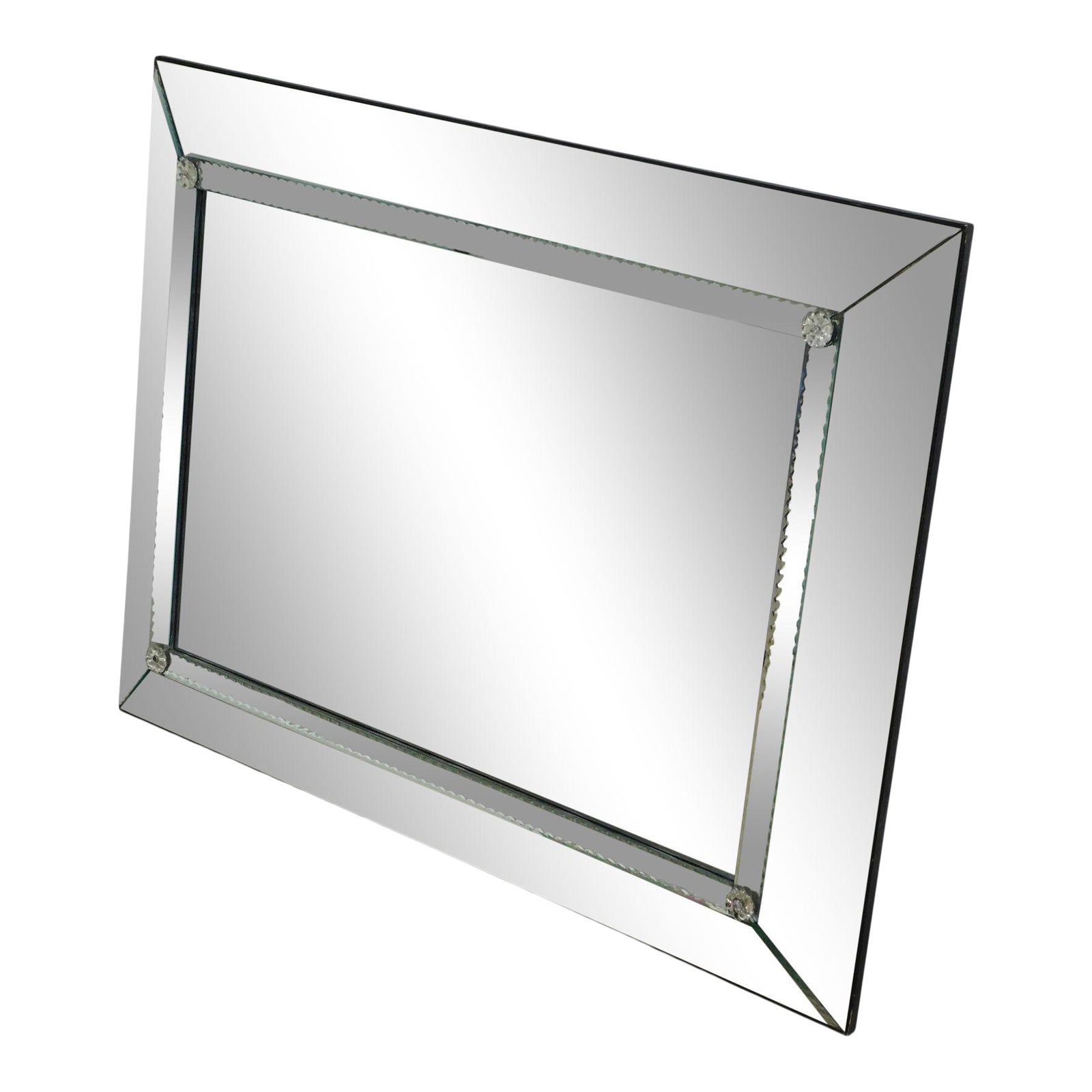 Vintage Venetian Style 36 X 48 Wall Mirror Chairish