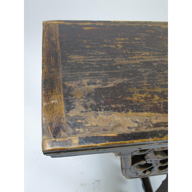 Antique Chinese Console Table For Sale - Image 5 of 8