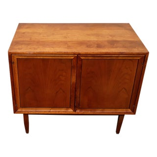1960's Drexel Mid-Century Record Cabinet For Sale