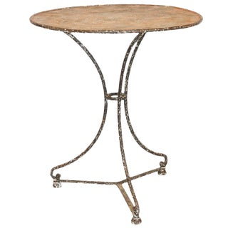 French Garden Table