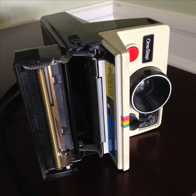 Vintage Polaroid One Step Land Camera For Sale - Image 9 of 11
