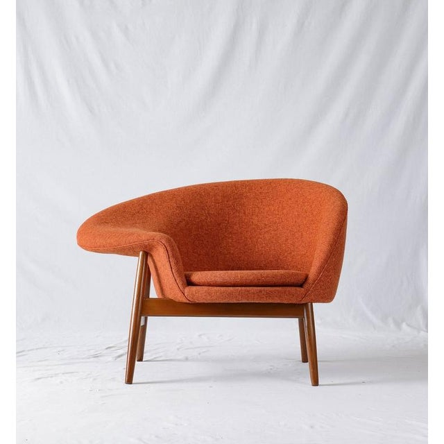 "Hans Olsen"" Fried Egg"" lounge chair designed in 1956 and produced by Bramin."