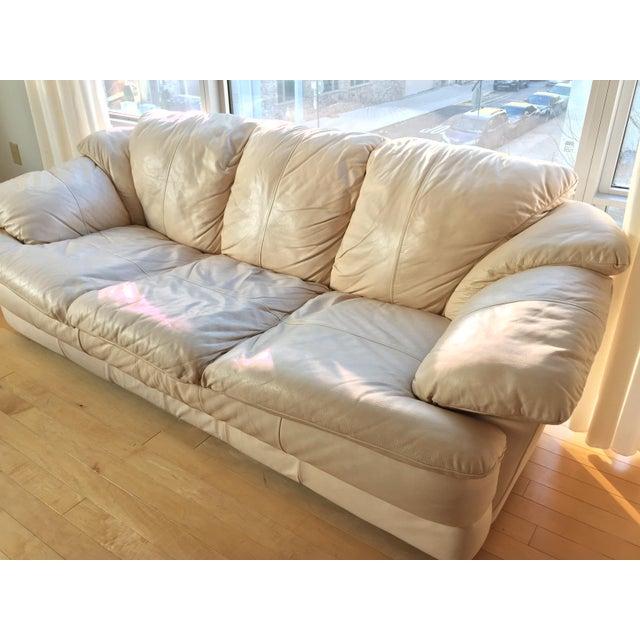 Natuzzi Italian Leather Sofa - Image 7 of 11