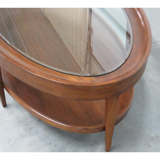 Modern Modern Design Glass Top Coffee Table For Sale - Image 3 of 6