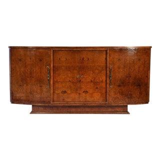 Art Deco Burlwood Sideboard Cabinet