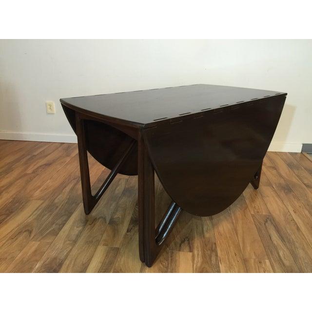 Kurt Ostervig Danish Modern Drop Leaf Dining Table - Image 9 of 11