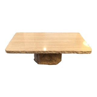 Contemporary Kreiss Marble Coffee Table For Sale
