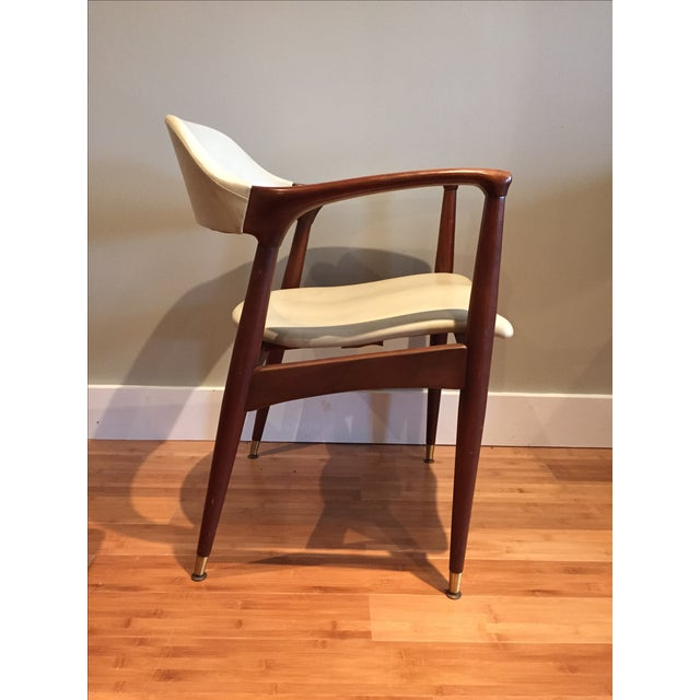 Danish Modern Mid-Century Modern Chair by Jamestown Lounge Co For Sale - Image 3 of 10